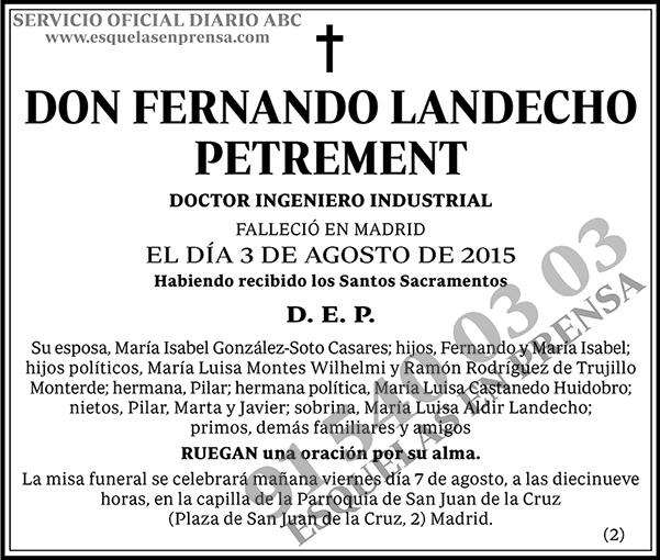 Fernando Landecho Petrement